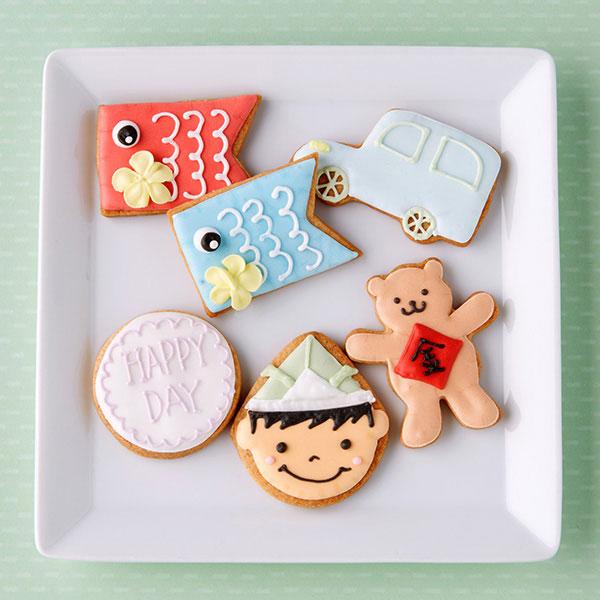 子供の日アイシングクッキー 6枚入り