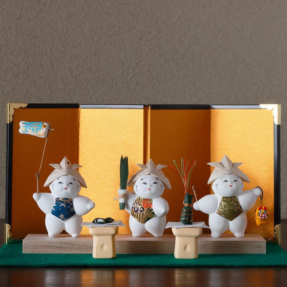 豆御所人形5月飾り「端午」