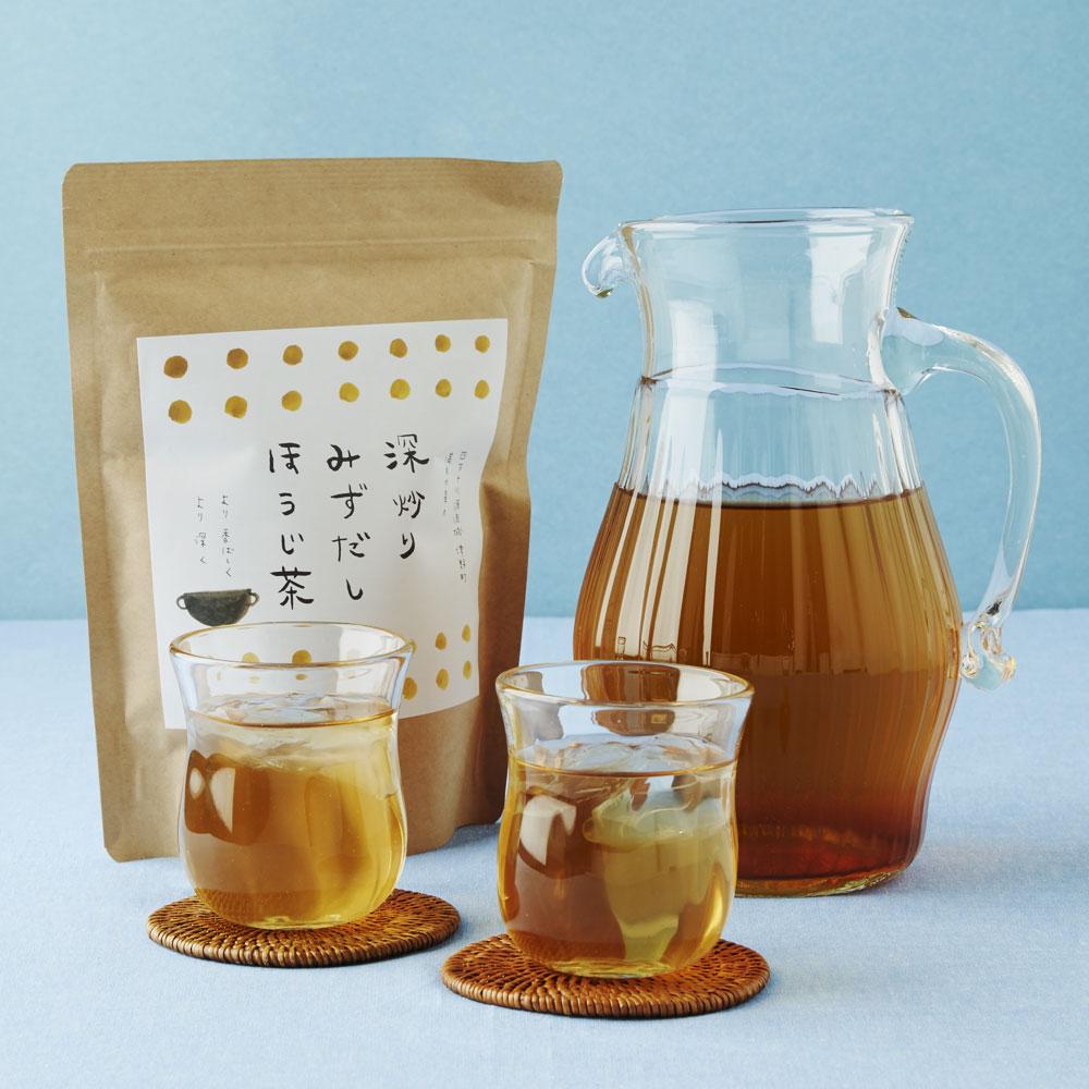 深炒り水出しほうじ茶 2袋
