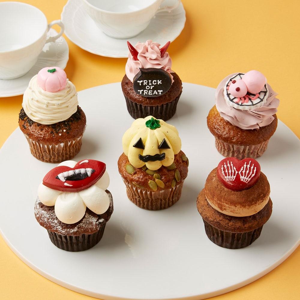 ハロウィンカップケーキ6個入り