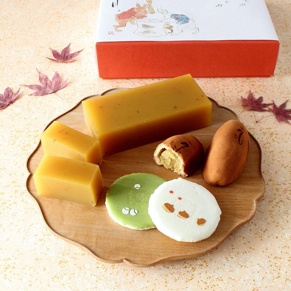 秋菓子いろいろ