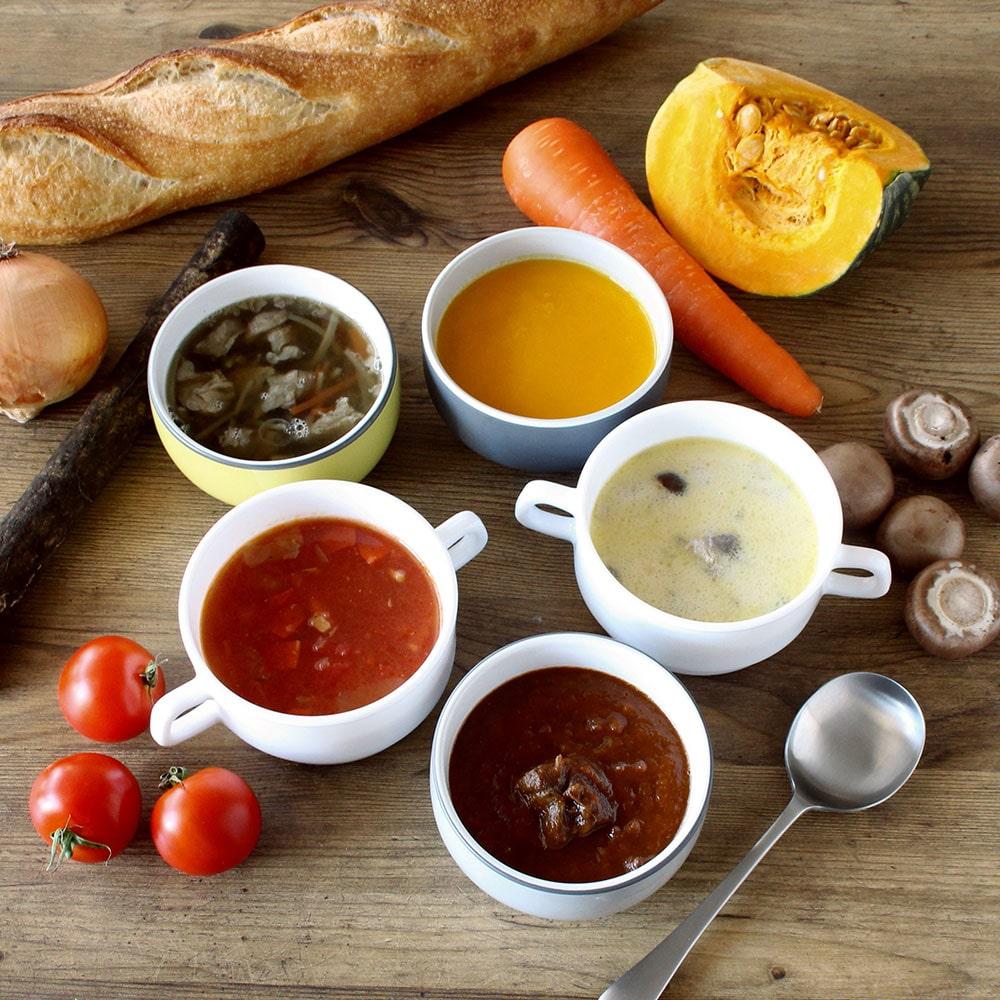 5種のスープ