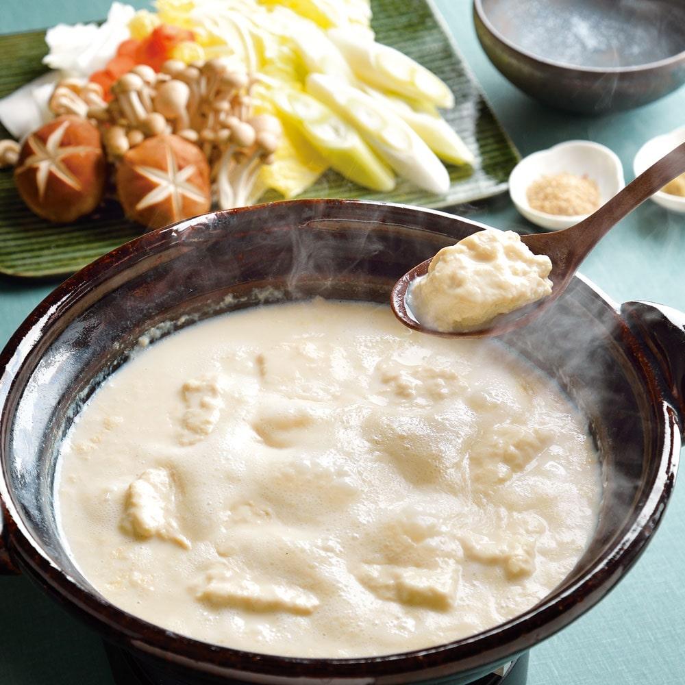 温泉湯豆腐セット