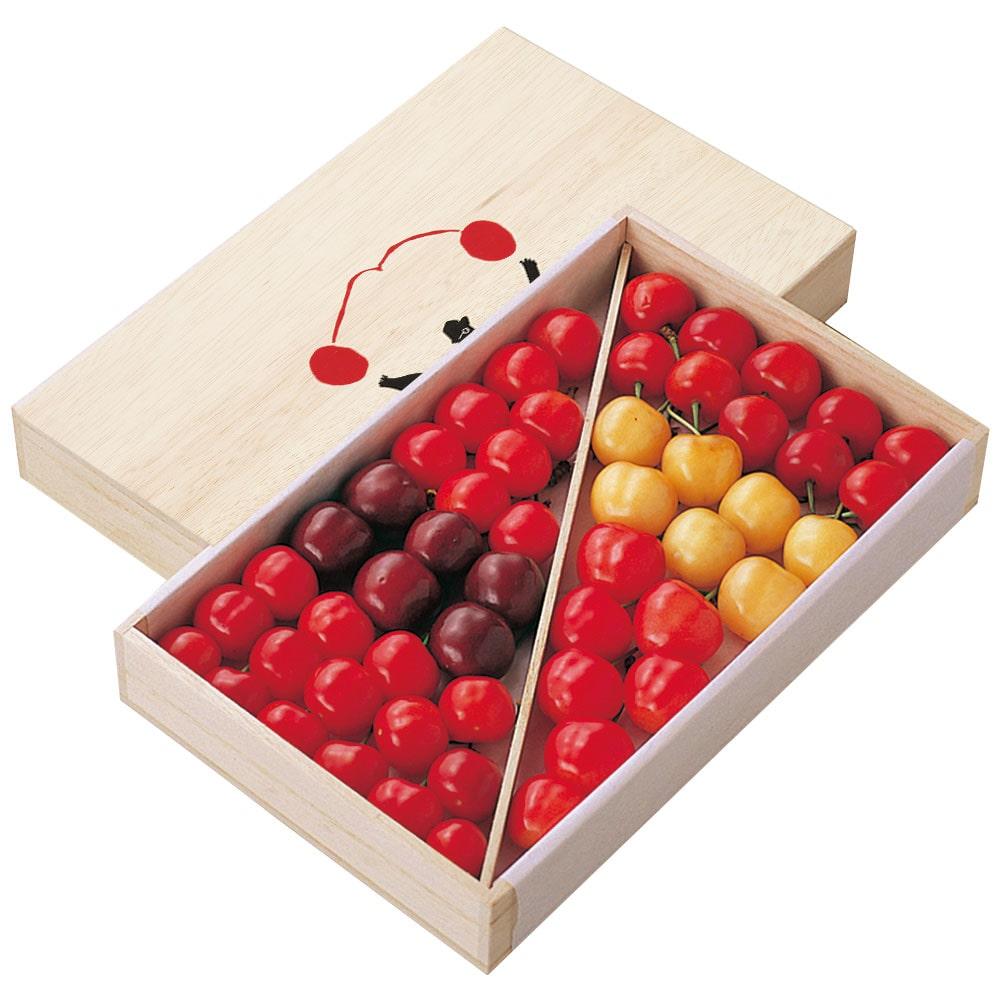 [最上園]6種詰合せ 500g〜550g(桐箱詰)