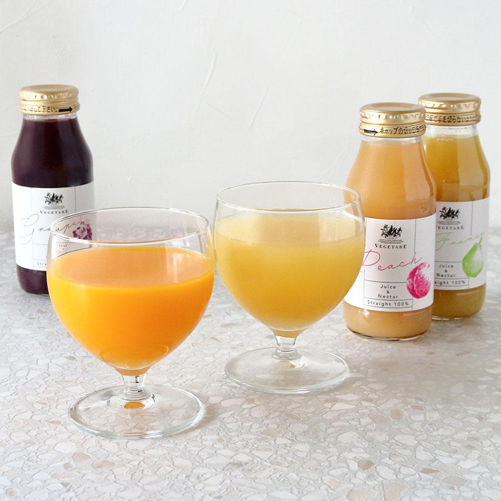 国産果実ジュース&ネクター(ストレート100%)5本セット