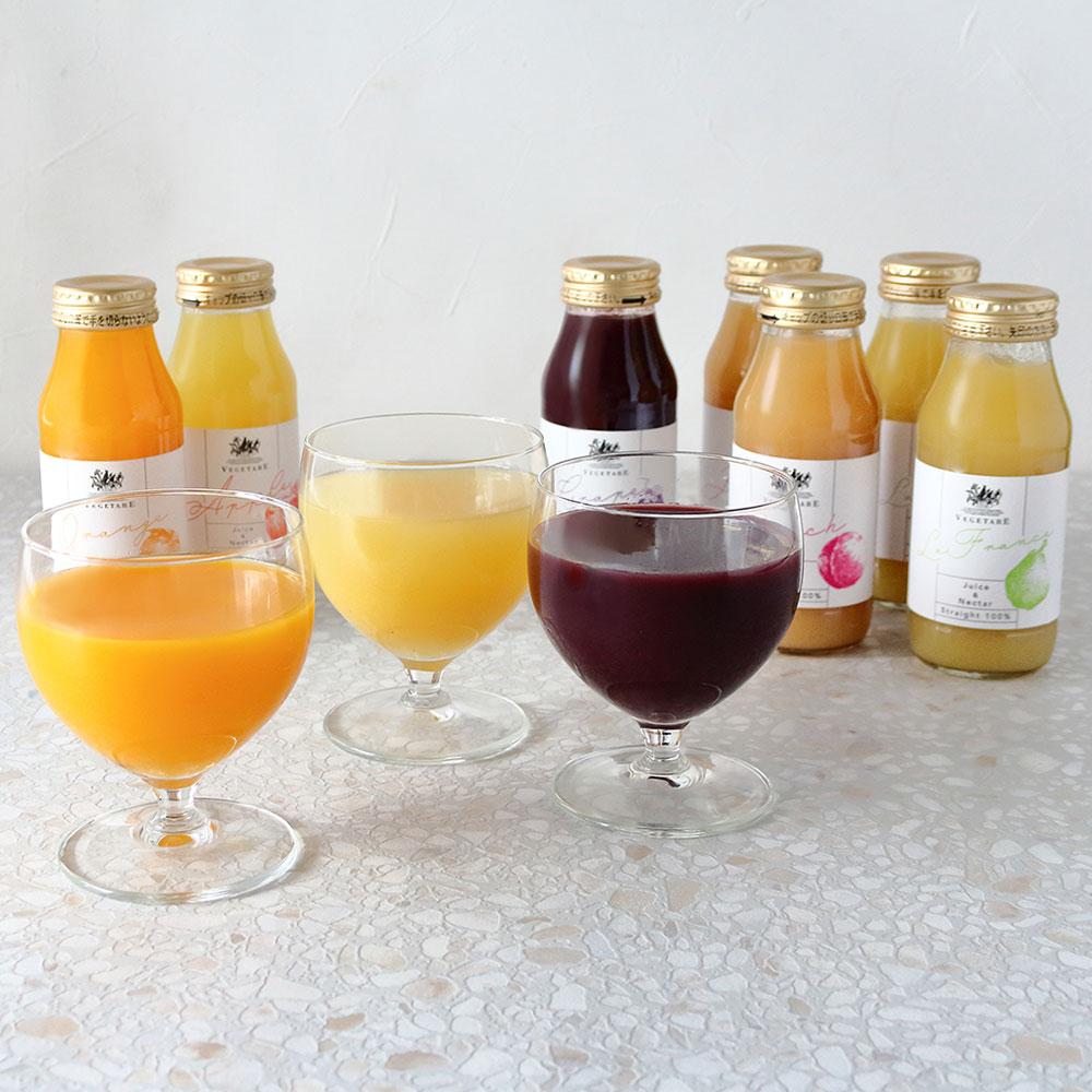 国産果実ジュース&ネクター(ストレート100%)10本セット