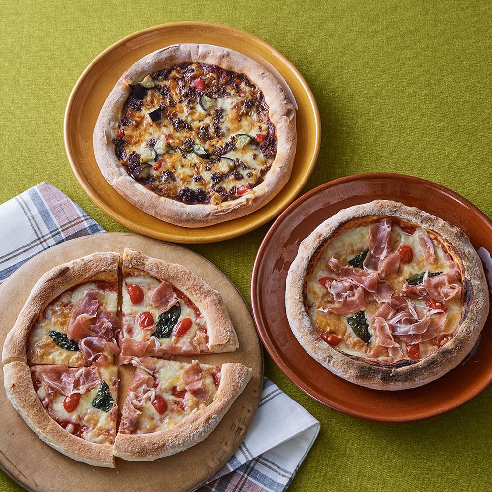 ピザ2種3枚セット