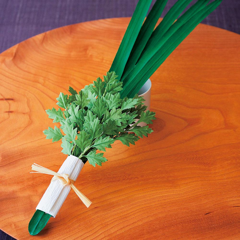 端午の節句飾り菖蒲・蓬 〜香菖蒲の薬湯付