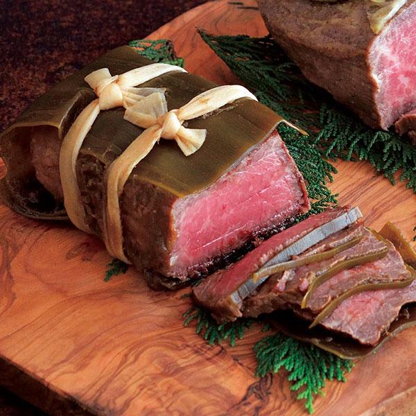 黒毛和牛モモ肉のロースト昆布巻き B(500g)