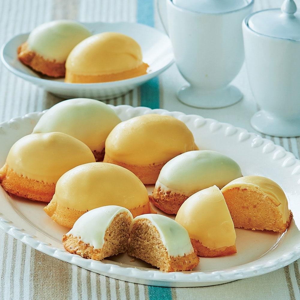 瀬戸内生口島レモンのマドレーヌとレモンティーマドレーヌのセット