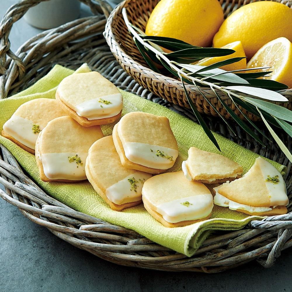 島レモンのホワイトチョコクッキー 10個入り