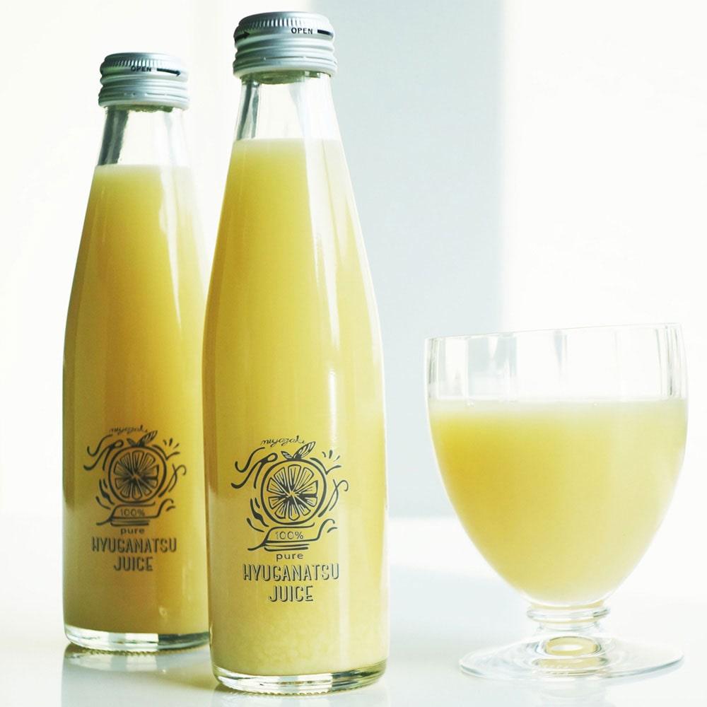 果汁100% 日向夏ジュース 8本入り