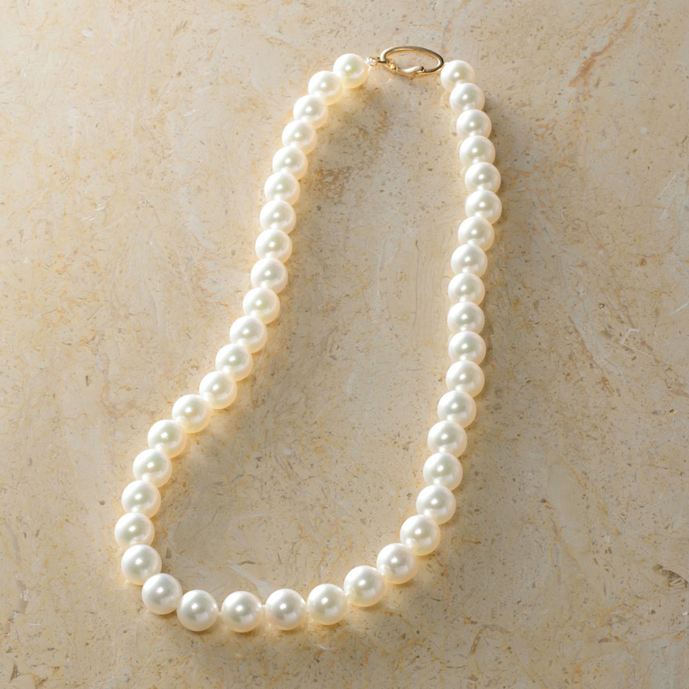 婦人画報オリジナル 大粒あこや真珠ネックレスイメージ