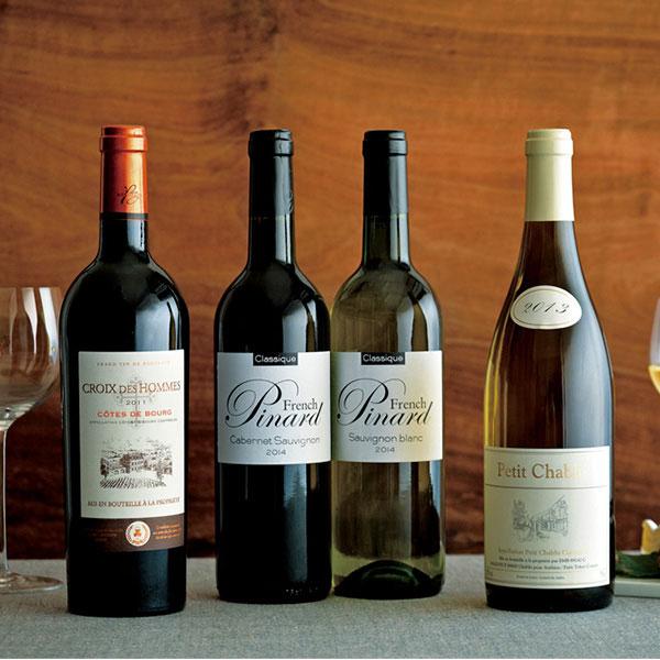 フランスワイン 4本セット