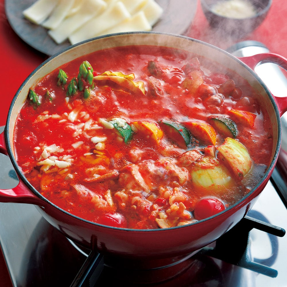 おどろきっちん チーズとトマトのローマ風もつ鍋セット