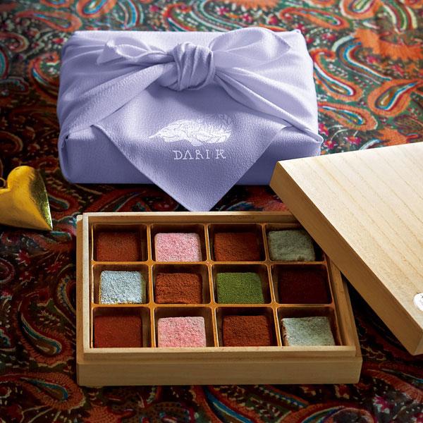 カカオが香るフレッシュチョコレート 8種12個入り