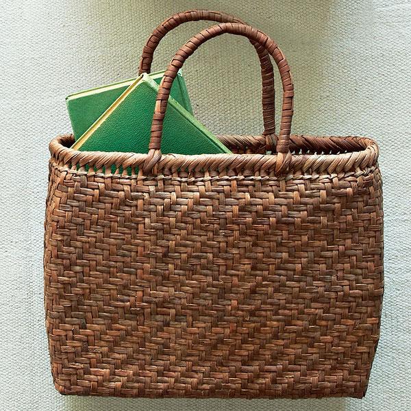 つる工房鷹山 山ぶどう網代編み籠バッグイメージ