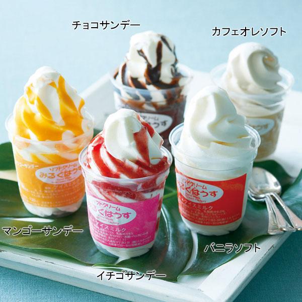 ソフトクリーム&サンデーセット