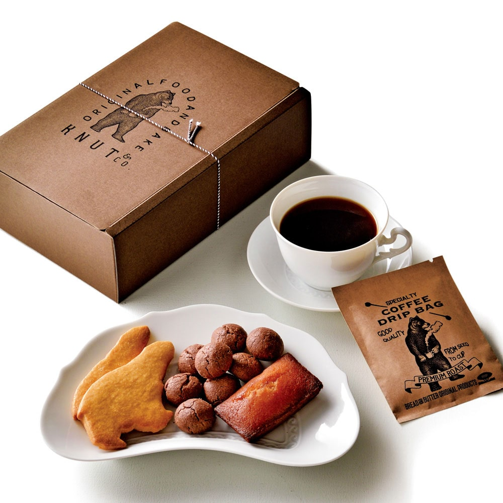 コーヒーと焼菓子セット