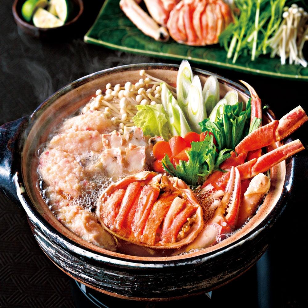 ずわい蟹鍋(4人前)