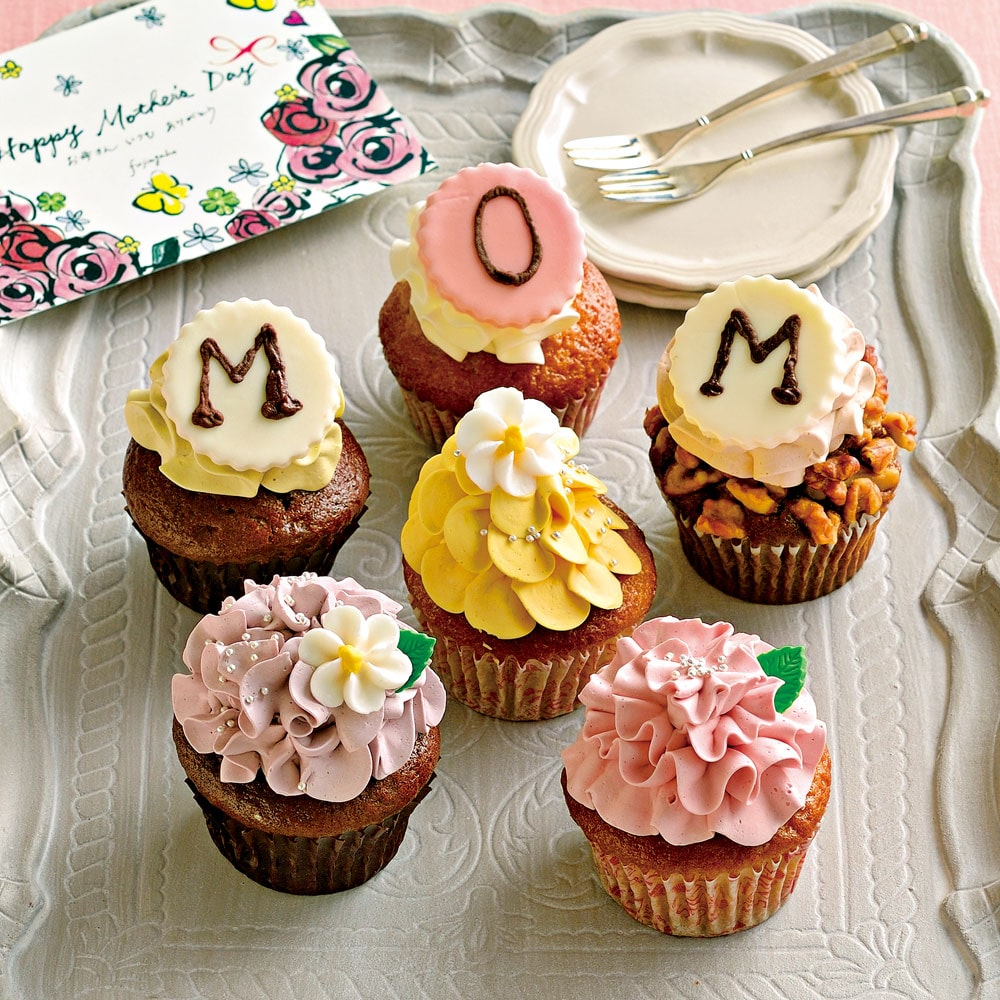 母の日にも!甘くてキュートなカップケーキの誘惑…♡