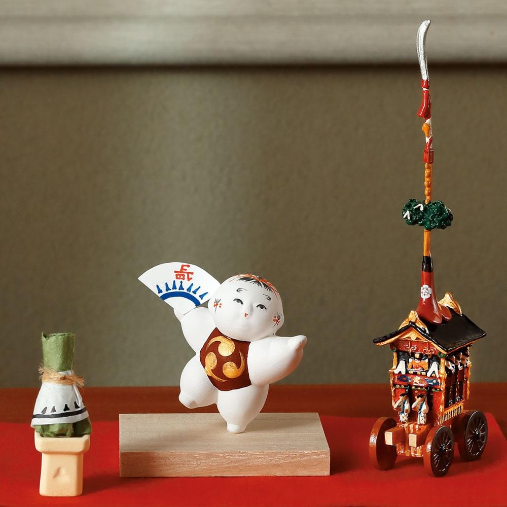 豆御所人形「祇園祭」