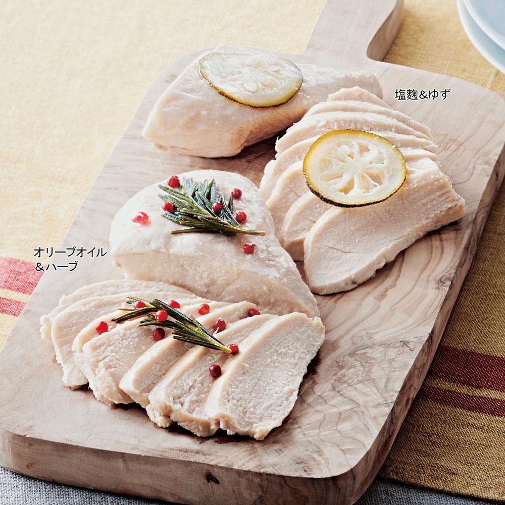 婦人画報オリジナル 匠赤鶏のサラダチキン 2種セット 4個入り(2種×2個)イメージ