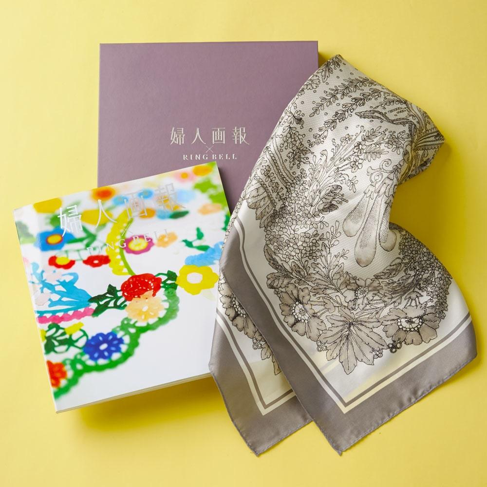 婦人画報×リンベル *武蔵野+スカーフ イメージ