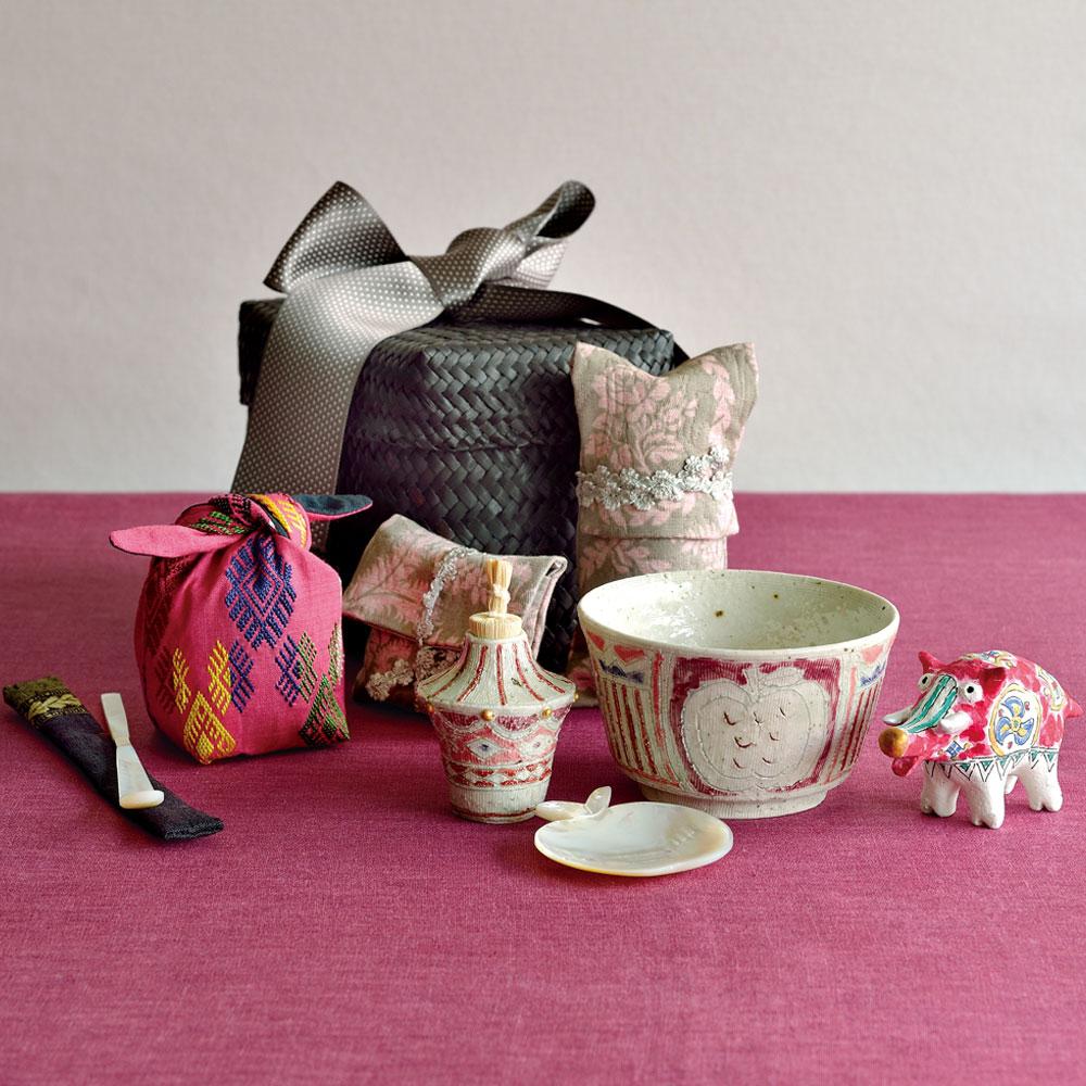松尾 三希子さんの旅持ち茶籠「白雪姫」のお誂え