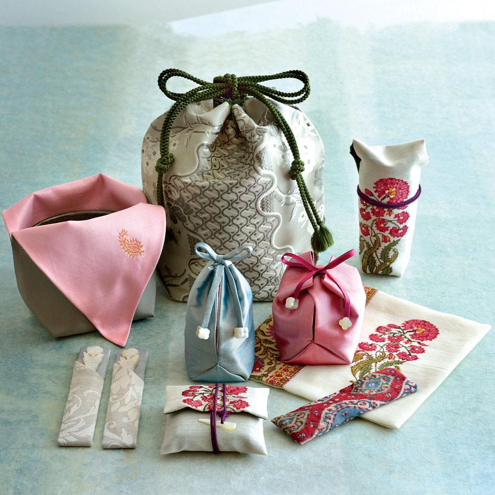 旅持ち茶箱「仏蘭西モダンな宝袋」