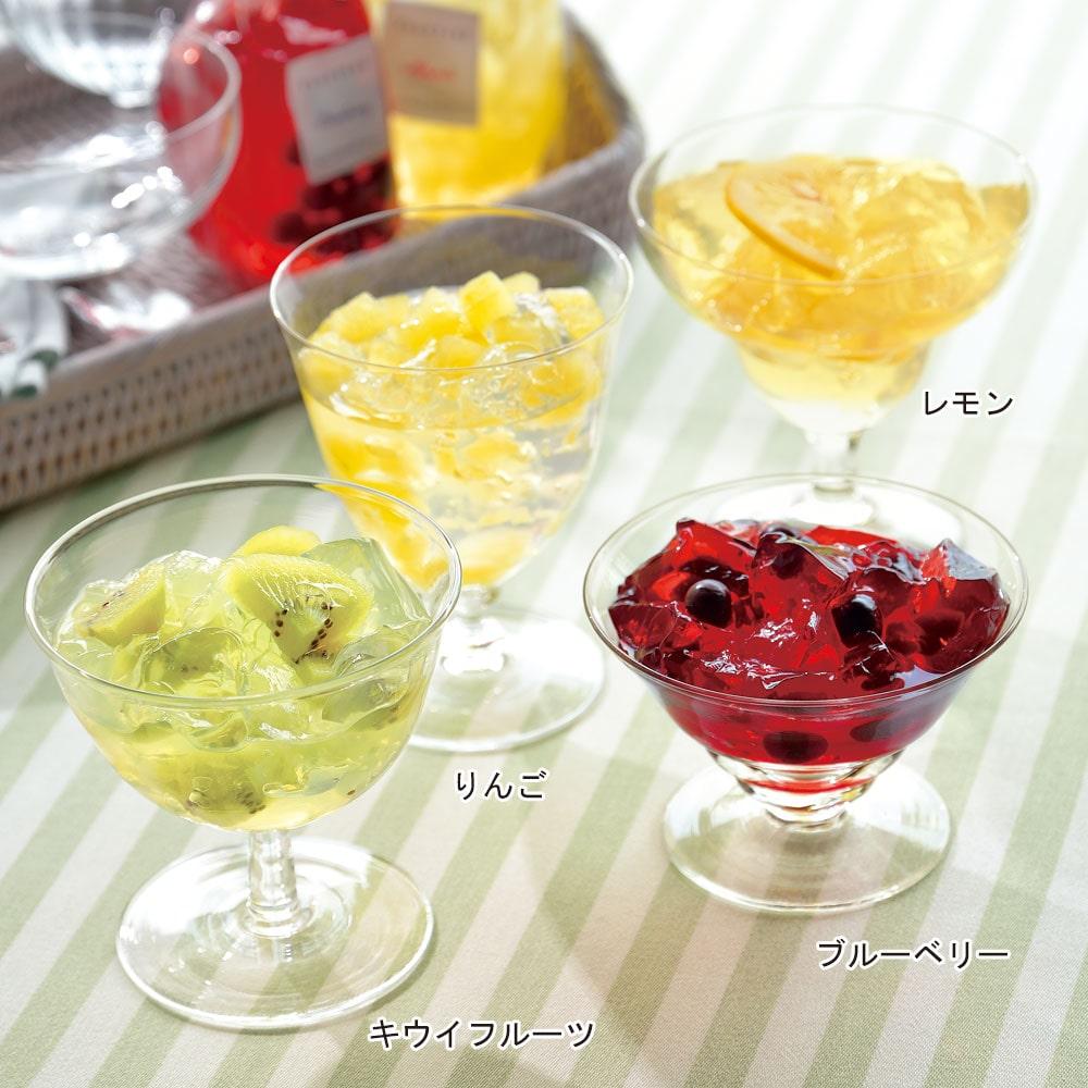 国産生フルーツゼリー 4種6個入り