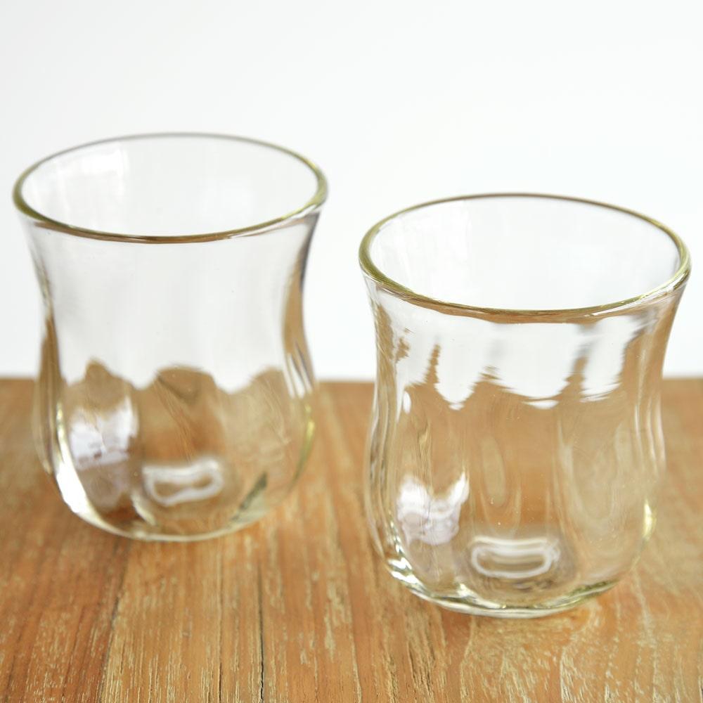 村松学さんのペアグラス