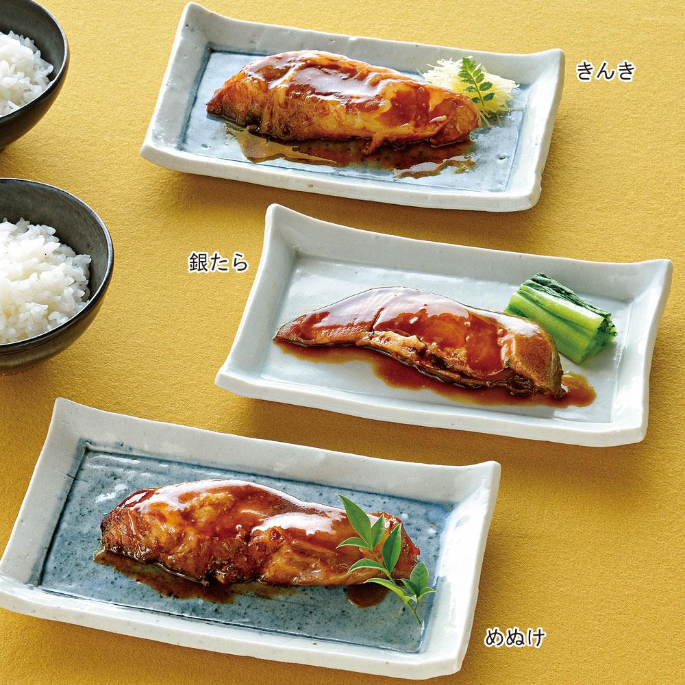 海味心煮付セット(きんき・めぬけ・銀たら 各2切 6個)