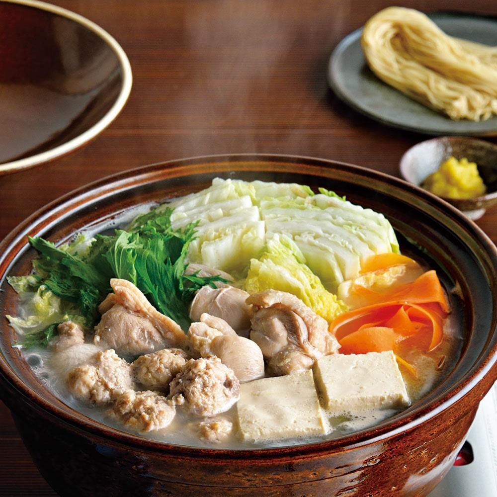 博多水炊きとり田 水炊きセット ラーメン付 2〜3人前
