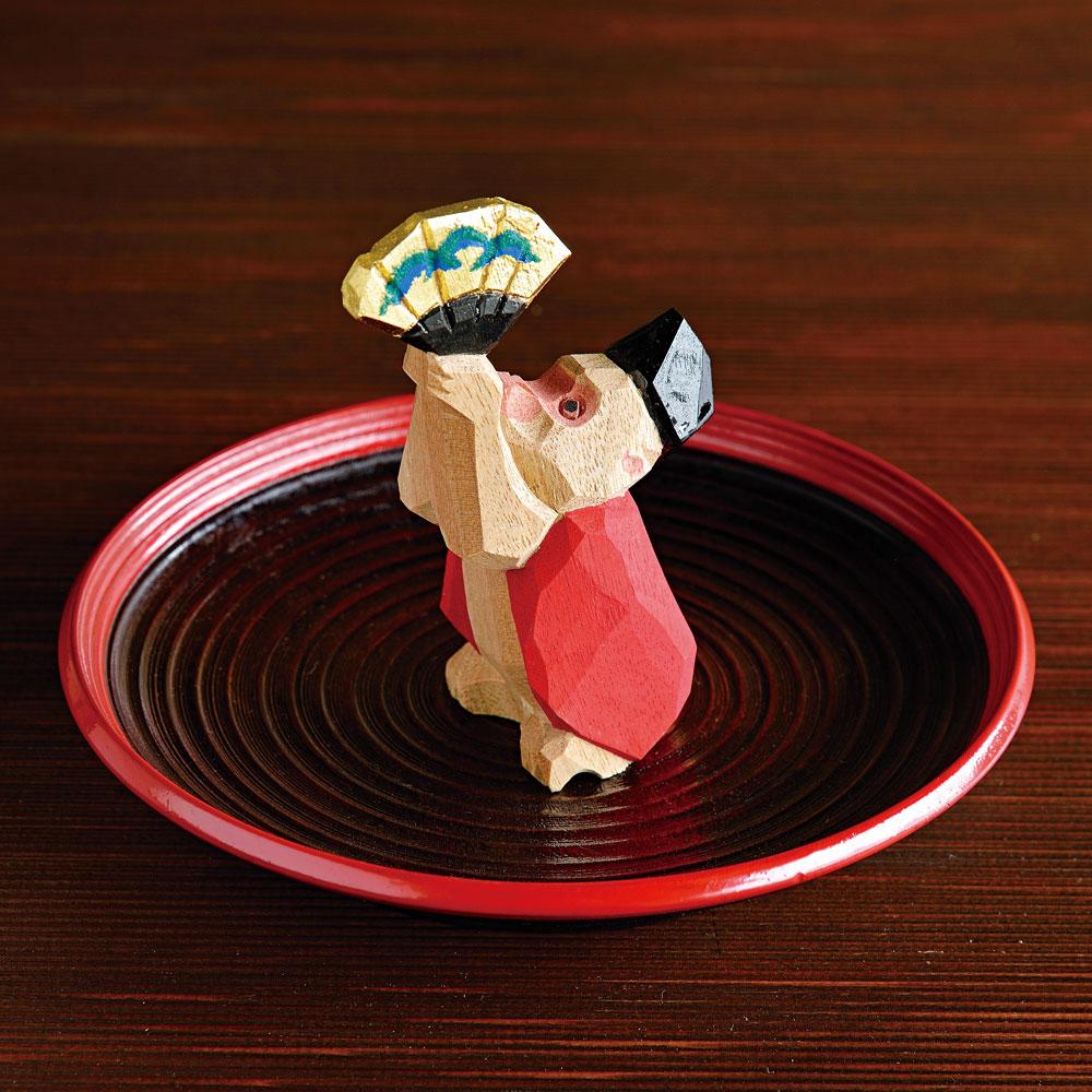 三番叟 村瀬治兵衛さんの吉野皿付き