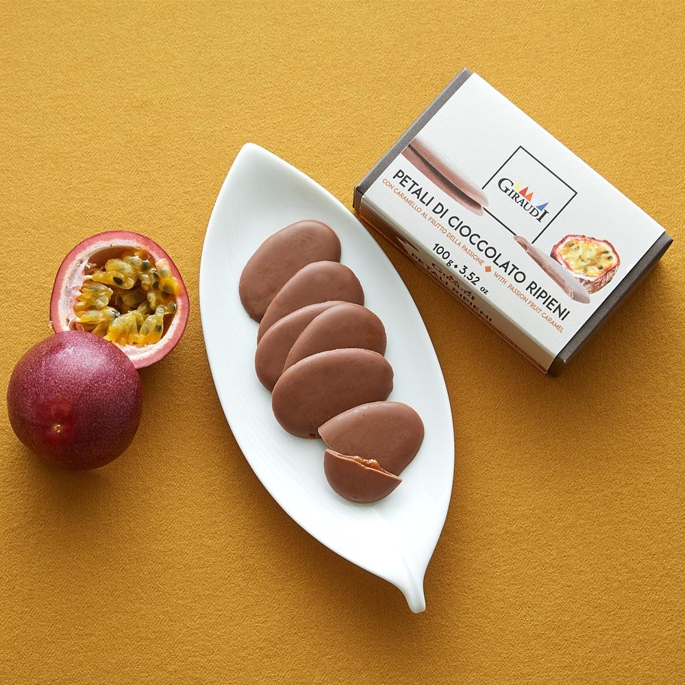 フルーツクリームチョコレート パッションフルーツ