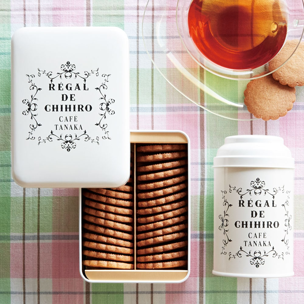 ビスキュイ・シンプリシテ缶&オリジナル紅茶缶セット