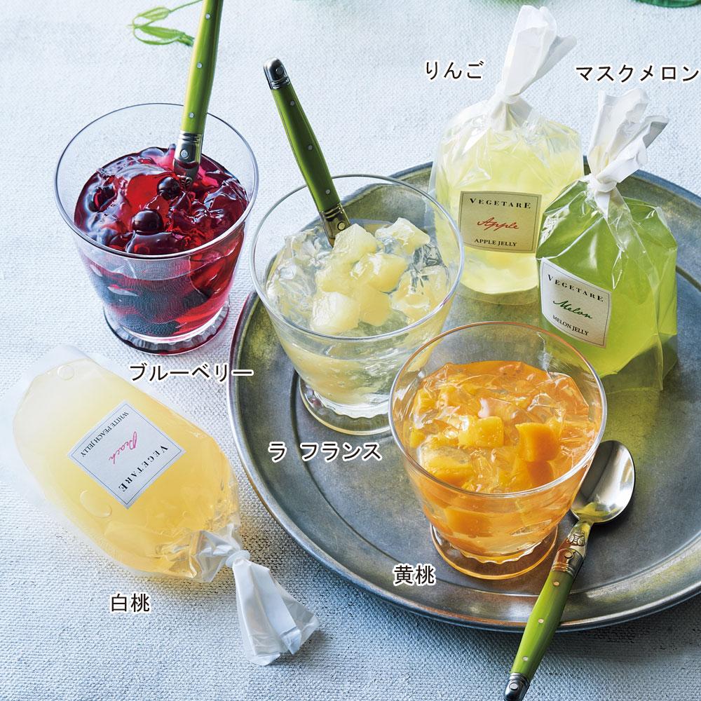 国産生フルーツゼリー 6種セット