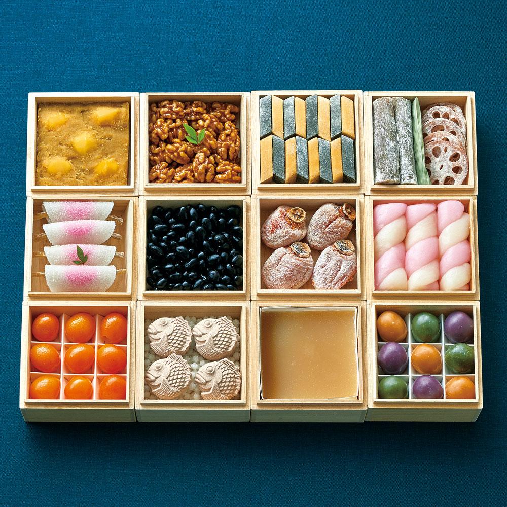 お菓子のおせちのイメージ