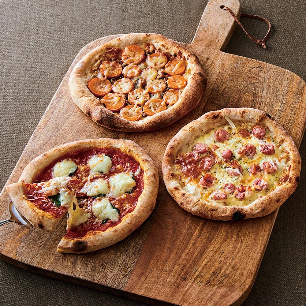 KURKKU FIELDS PIZZA 3種3枚
