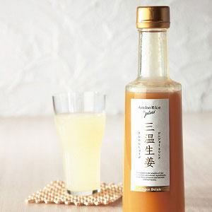 ジンジャードリンクと 酒風呂のW生姜セット