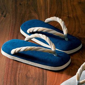 上装履 ブルー