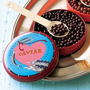 キャビア レッド缶(ビターチョコレート)