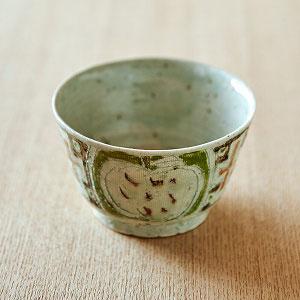 白雪姫のお茶碗 グリーン