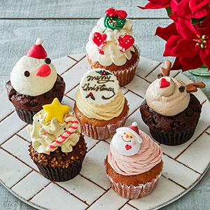 クリスマスカップケーキ 6個入り