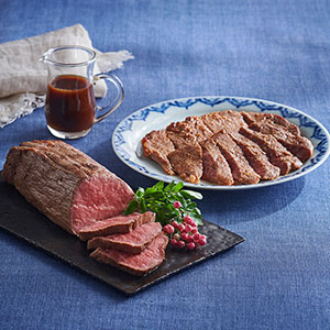 黒毛和牛ローストビーフと和牛味噌漬けギフトセット