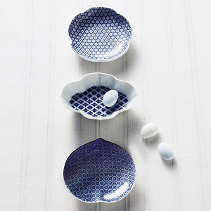 印判豆皿3枚セット(梅/木瓜/桃)