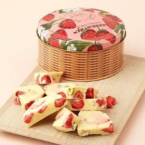 バークチョコレートホワイトストロベリー