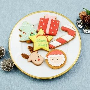 クリスマスアイシングクッキー 6枚
