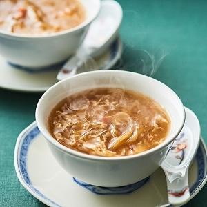 中国料理「星ヶ岡」蟹肉入りふかひれスープ 2袋